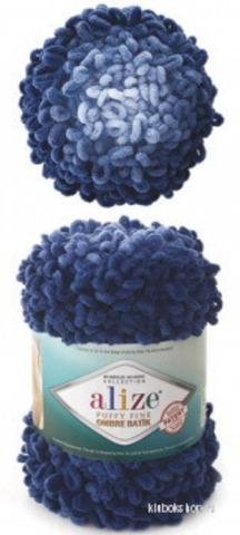 Alize Puffy Fine ombre batik 7266, фото