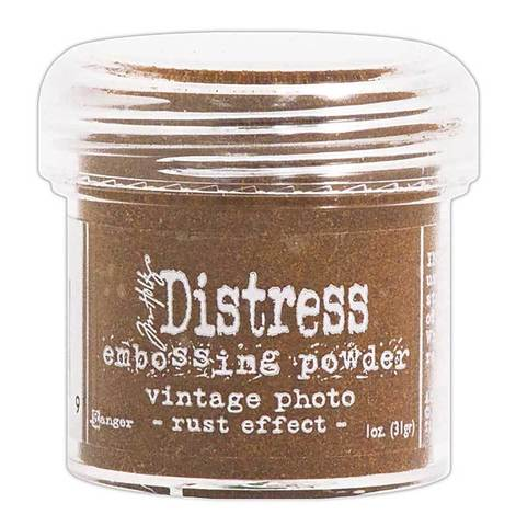 Пудра для эмбоссинга Tim Holtz® Distress Embossing Powders - Vintage Photo