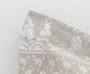 Постельное белье семейное Mirabello Brussel серо-бежевое