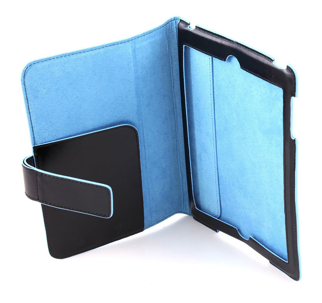 Чехол Piquadro Blue Square, цвет черный, 15x21x15 см (AC2976B2/N)