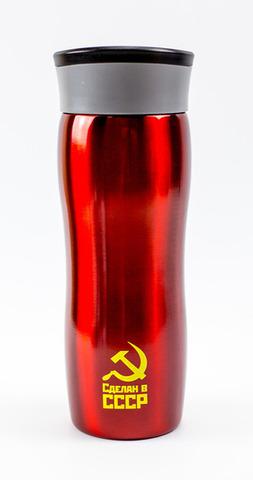 Термокружка el Gusto «Сделан в СССР» красная 470 мл