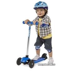 детский самокат синий Yvolution