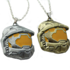 Halo Spartan Assault Mask Necklace