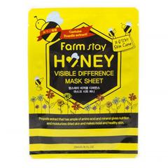 Farmstay Visible Difference Mask Sheet Honey - Тканевая маска для лица с экстрактом меда