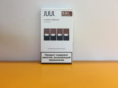 Картриджи 4шт для JUUL by JUUL Labs