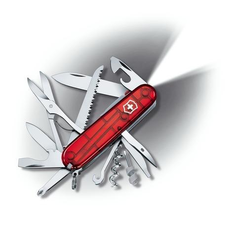 Складной нож Victorinox Huntsman Lite (1.7915.T) 91 мм., 15 функций, с фонариком - Wenger-Victorinox.Ru