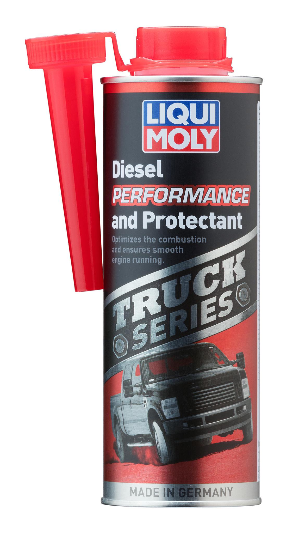 Liqui Moly Truck Series Diesel Performance and Protectant Присадка супер-дизель для тяжелых внедорожников и пикапов