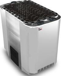 Серия Savonia: Электрическая печь SAWO SUPER SAVONIA COMBI SAVC-180NS-Z (18 кВт, с парогенератором, выносной пульт, внутри оцинковка, снаружи нержавейка) цена