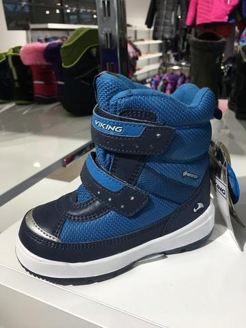 VIKING Play II R GTX  зимние ботинки для мальчика Викинг