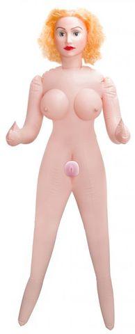 Реалистичная кукла с вибрацией Slutty Angel