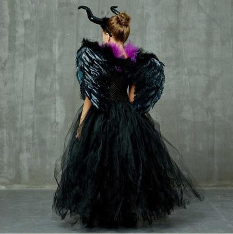 Малефисента платье пачка для девочки