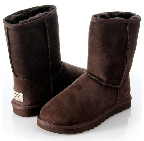 Ugg Mens Classic Short (Chocolate)