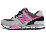 Кроссовки Женские New Balance 574 Grey Black Pink