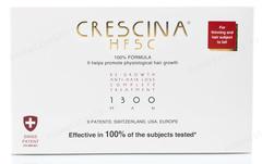 Комплекс - Лосьон для стимуляции роста волос для мужчин №10 + Лосьон против выпадения волос №10, 1300  (Labo | Crescina Re-Growth HFSC 100% + Crescina Anti-Hair Loss HSSC 1300), 10 х 3,5 мл + 10 х 3,5 мл