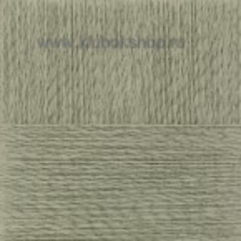 Пряжа Конопляная (Пехорка) Светлый хаки 494