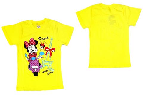 Микки Маус футболка детская Минни в Париже