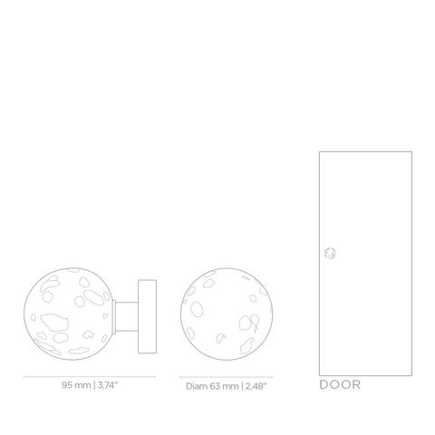 Дверная ручка PullCast METEOR EA1048