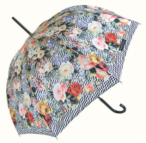 Купить онлайн Зонт-трость Chantal Thomass 878 Fleures coquettes в магазине Зонтофф.