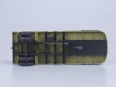 Semitrailer MAZ-5215 khaki AutoHistory 1:43