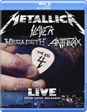 Metallica, Slayer, Megadeth, Anthrax / The Big 4: Live From Sofia, Bulgaria (2Blu-ray)