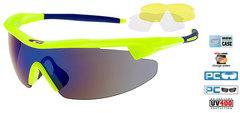 Солнцезащитные очки goggle RAZOR neon yellow/black