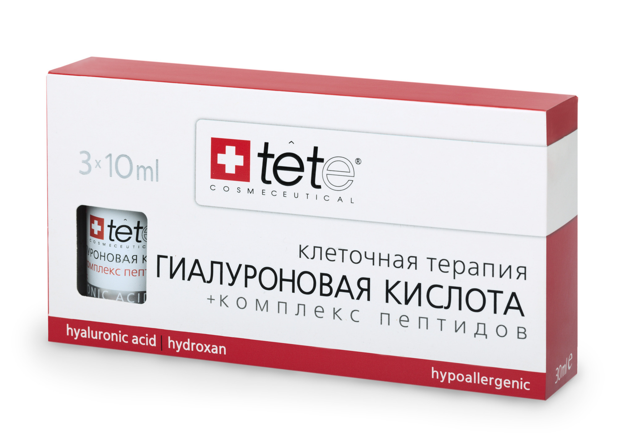 Гиалуроновая кислота + комплекс пептидов / Hyaluronic acid & Peptides/Tete