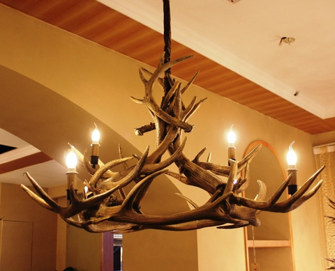 ROLL&HILL Superordinate Antler Chandelier - 1