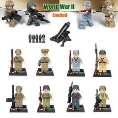 Минифигурки Военных серия 233