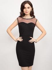 GDR009140 Платье женское. черное