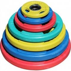 Диск олимпийский цветной DY-H-2012-10,0 кг