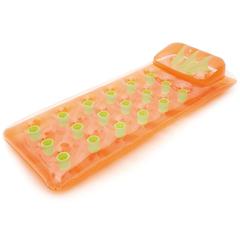 Summer Escapes Прозрачный матрас с оранжевым дном (AM-P08-0228)