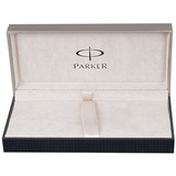 Перьевая ручка Parker Sonnet F527 ESSENTIAL Stainless Steel GT перо F (S0809110)
