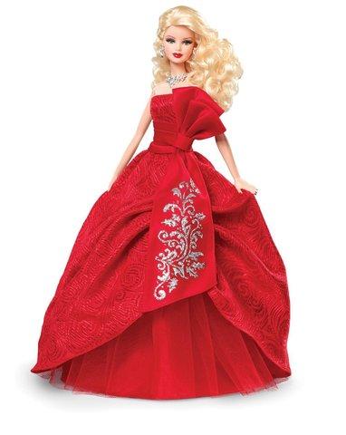 Коллекционная кукла Барби  2012 г. - Праздничная, Mattel