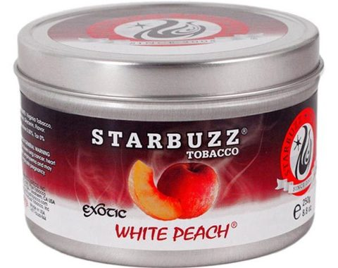 Табак для кальяна Starbuzz White Peach 250 гр.