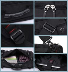 Рюкзак-сумка дорожная для путешествий КАКА 2050 чёрный