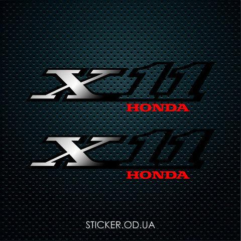 Наклейки на мотоцикл  HONDA X11 (CB 1100 SF)