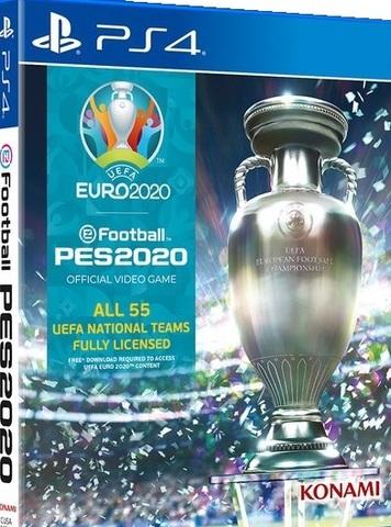 PS4 eFootball PES 2020. UEFA EURO 2020 (русские субтитры)