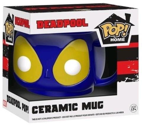 Кружка Funko POP! Home: Marvel: Blue Deadpool Mug 21712