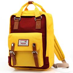 Рюкзак Nikki Macaroon Желтый + Красный