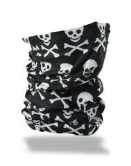 ZANheadgear - Motley Tube - Black Skull