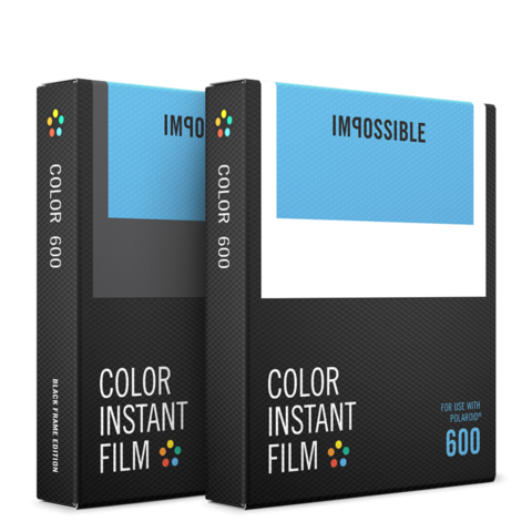 2 кассеты Color Core Bundle для Polaroid 600