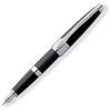 Ручка перьевая Cross Apogee черный (F) перо золото 18K (AT0126-2FD) ручка cross ручка перьевая at0126 1fd