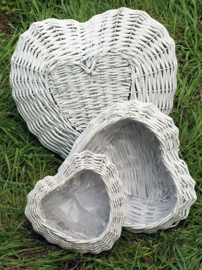 Плетеное кашпо J0228b