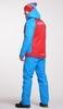 Мужской тёплый прогулочный лыжный костюм Nordski National Red