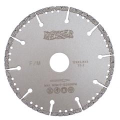 Диск вакуумный по металлу MESSER F/M, сухой, 125D-2.8T-3W-22.2