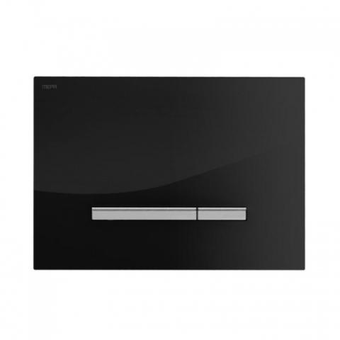 Смывная клавиша Mepa Sirius A 421741 черное стекло