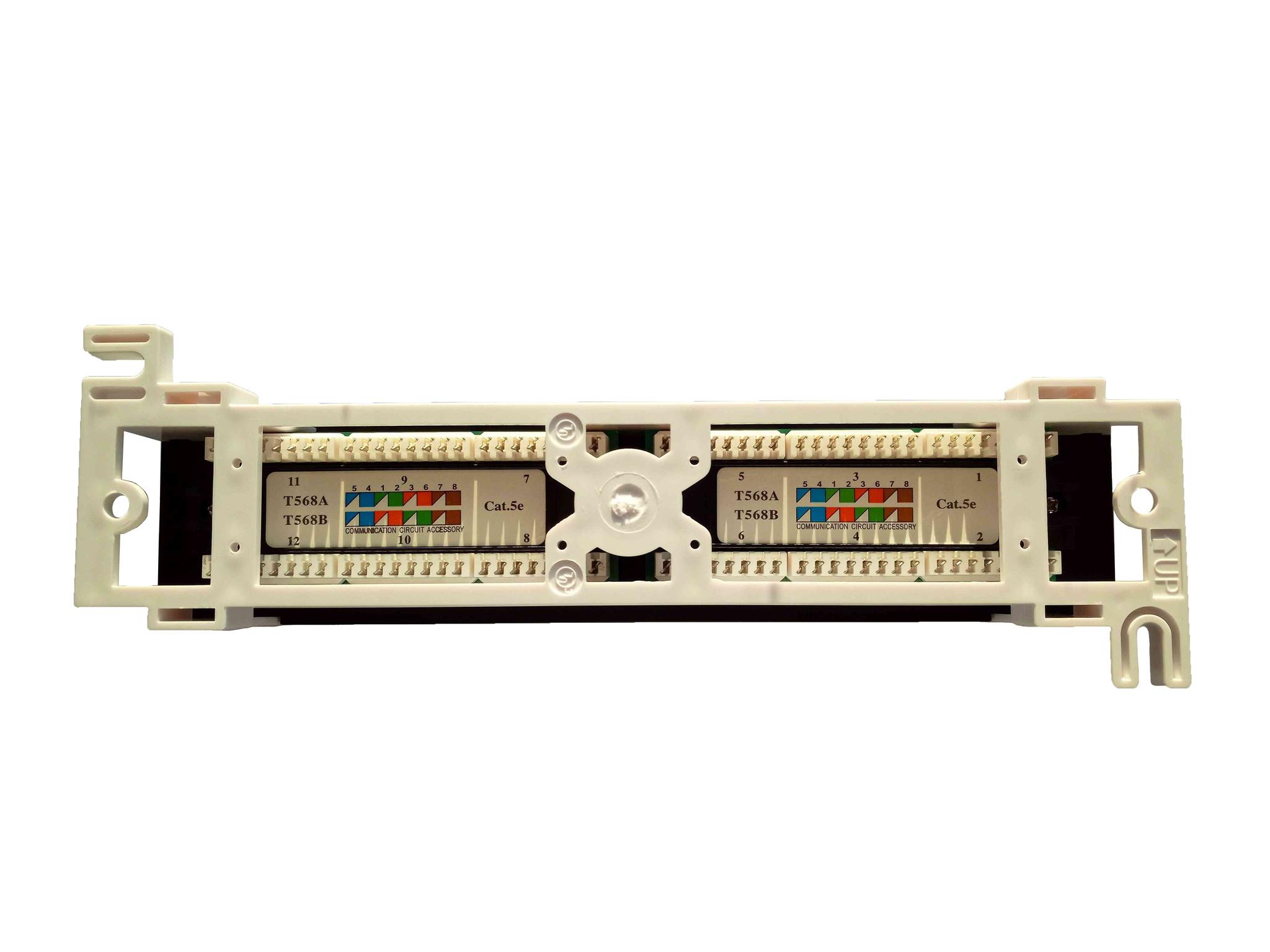 Патч-панель Ripo настенная, 12 портов купить по низкой цене в интернет-магазине