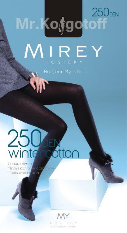 Колготки Mirey Wintercotton 250