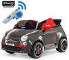 Электромобиль Peg Perego FIAT 500  Grey ED1173 на радиоуправлении