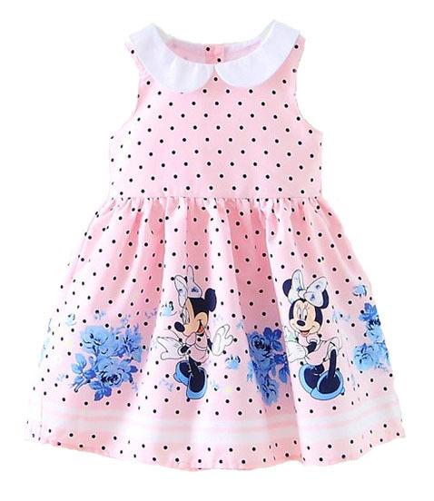 Минни Маус платье летнее для девочки